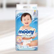 moony 尤妮佳 纸尿裤 L54片