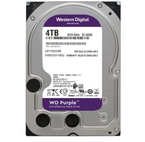 WD 西部数据 紫盘 WD40EJRX 监控机械硬盘 4TB(64M、5400RPM)