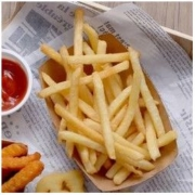 McCain 麦肯 香脆冷冻1/4裹粉薯条950g+3/8裹粉粗薯950g