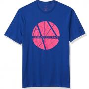 S码!prime会员!A|X Armani Exchange 阿玛尼副牌 男士经典标志短袖T恤   直邮含税到手180.35元