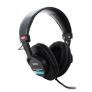 SONY 索尼 MDR-7506 封闭式头戴 监听耳机