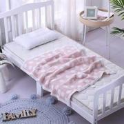 puraspace 婴儿毛毯盖毯 70*90cm9元包邮(需用券)