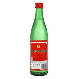 Niulanshan 牛栏山 传统牛栏山系列 绿牛二 46%vol 清香型白酒 500ml 单瓶装
