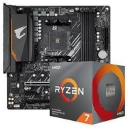 GIGABYTE 技嘉 B550M AORUS ELITE 主板 AMD 锐龙 Ryzen 7 3700X CPU处理器 板U套装2179元包邮
