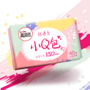 kotex 高洁丝 小Q包无香型护垫卫生巾 150mm40片