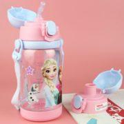 耐摔无味!Disney 迪士尼 儿童水杯  520ML 公主