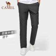 科技速干不粘身:Camel 骆驼 2021年夏款 男/女薄款速干休闲裤89元包邮
