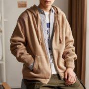 Tonlion 唐狮 男士针织衫外套