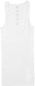 Calvin Klein 卡尔文·克莱恩 男士纯棉背心5件装 白色M码 到手¥176.8