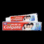 Colgate 高露洁 超强防蛀牙膏 固齿清新美白 90g/支1元包邮