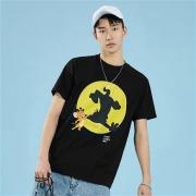 太平鸟 BWDAA226489 猫和老鼠系列 男女款印花短袖T恤85元(需用券)