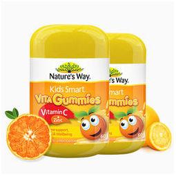 Nature's Way 考拉海购:2瓶装Nature's way佳思敏儿童维生素C+锌软糖