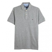 TOMMY HILFIGER 汤米·希尔费格 C837855269-004男式纯色短袖polo衫357元包邮(需用券)