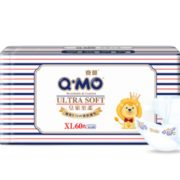 Q·MO 奇莫 皇家至柔 婴儿纸尿裤 XL60片