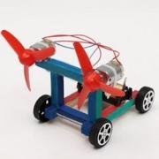 Zhiqixiong 稚气熊 双桨双翼 风力空气赛车