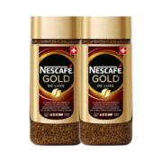 瑞士原装进口 雀巢 金牌无糖纯咖啡 200g*2罐 现磨咖啡口感158元包邮合79元/罐