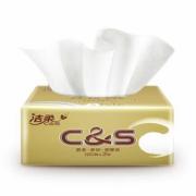 SUPER会员! C&S 洁柔 金尊系列 抽纸 3层*120抽*6包(195*123mm)¥8.80 6.4折 比上一次爆料降低 ¥3.1