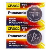 Panasonic 松下 CR2032纽扣电池 3V 2粒装5.9元包邮(需用券)