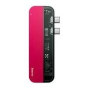BASEUS 倍思 透明系列 双口Type-C拓展坞(雷电3、Type-C、HDMI、USB3.0*2)