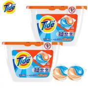PLUS会员! Tide 汰渍 深层洁净洗衣凝珠 21颗*2盒¥27.45 比上一次爆料降低 ¥4.02