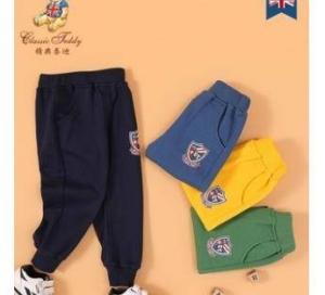 CLASSIC TEDDY 精典泰迪  33333333 儿童休闲运动裤 90-140CM