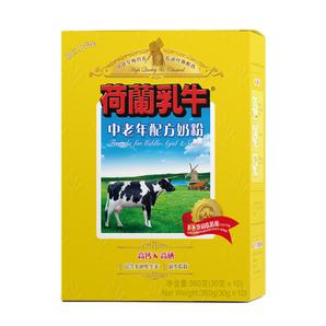 临期品!DutchCow 荷兰乳牛 中老年配方奶粉 360g 9.9元包邮(需拼团)