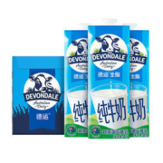DEVONDALE 德运 全脂纯牛奶 1L*10盒