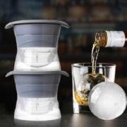 Yom 莜牧 硅胶球形制冰盒 2个装