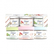 Dove/多芬 风味冰激凌 磨砂膏 50g*3 *494.72元(双重优惠,折合单价23.68元)