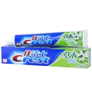 Crest 佳洁士 草本水晶牙膏 90g/支