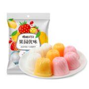 PLUS会员!樱桃小丸子 樱桃小丸子 含乳果冻布丁 250g*2袋