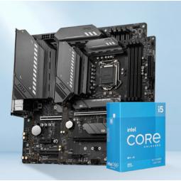 intel 英特尔 i5-11600KF 处理器 + 微星 B560 A PRO主板 套装