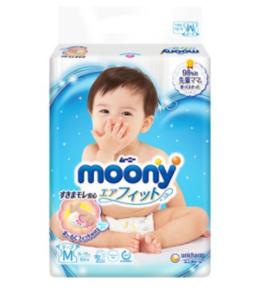 88VIP! moony 尤妮佳 婴儿纸尿裤 M64