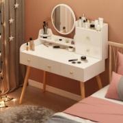森乐普 梳妆台  100cm 暖白色 单桌