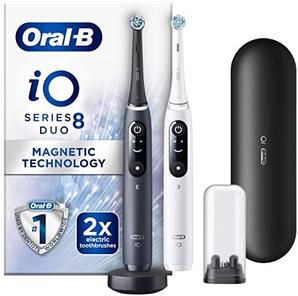 Oral-B 欧乐B iO 8系列 云感洁净护龈 智能蓝牙电动牙刷2支装    含税到手约¥1751