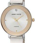 Anne Klein 安妮·克莱因 AK/3567SVTT女士镶钻手镯式手表  含税到手¥173.81