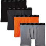 New Balance 男士运动平角内裤 4条装 到手¥94.58
