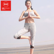 地球科学家 女提臀紧身速干健身裤 弹力打底裤 跑步瑜伽裤