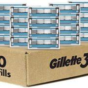 Gillette 吉列 3 手动刮胡刀刀头20件装 到手¥215.48¥197.51