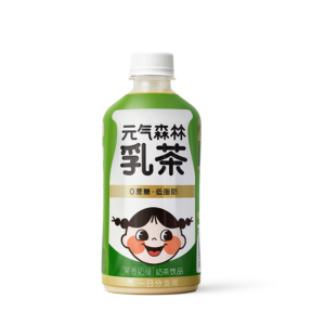 Genki Forest 元気森林 多口味奶茶 450ml*6瓶