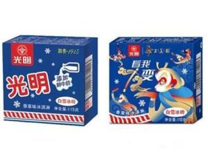 PLUS会员: Bright 光明 奶砖香草味冰淇淋 115g*4盒*6件