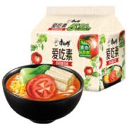 京东PLUS会员:康师傅 爱吃素 田园番茄面 5包*12件72.38元包邮(合6.03元/件)