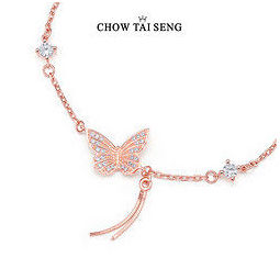 CHOW TAI SENG 周大生 S925 女士手链