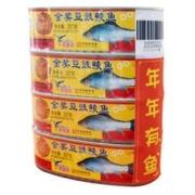 PLUS会员: Eagle-Coin 鹰金钱 金奖豆豉鲮鱼罐头 227g*4罐*2件75.03元(双重优惠,合37.52元/件)