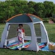 16日0点:TANXIANZHE 探险者 TXZ-0083 户外全自动帐篷 200*200*150cm