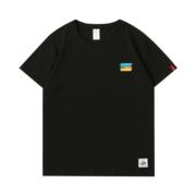 山岛里美 SDLM-11 男女款纯棉短袖T恤 五色小涂鸦29元包邮(需用券)