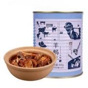 PLUS会员: 草原天路董羊肉 即食肉罐头 羊蝎子 800g/罐