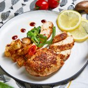 ishape 优形 鸡胸肉组合装 奥尔良口味x5+烧烤口味x5