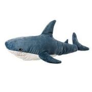 VAKADA 鲨鱼抱枕毛绒玩具 60厘米 宜家鲨鱼