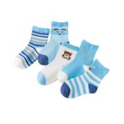 miaoyoutong 妙优童 儿童薄款中筒袜 5双6.9元包邮(需用券)